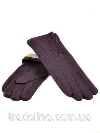 PODIUM Перчатка Женская кашемир (ПЛ)д F12 мод1 баклажан Распродажа, фото 2