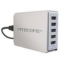 Зарядное устройство Nitecore UA55 (5 каналов, USB)