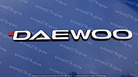 "Эмблема-надпись ""DAEWOO"" хром Ланос(на багажник)  96303494, фото 1"