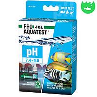 Тест JBL PROAQUATEST pH 7.4-9.0 Test для измерения рН воды