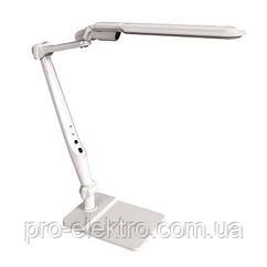 Лампа настільна світлодіодна LED 10W ZL50081 біла + диммер Z-Light