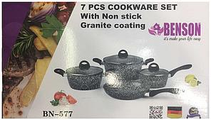 Набор посуды с гранитным покрытием BN-577 из 7 предметов