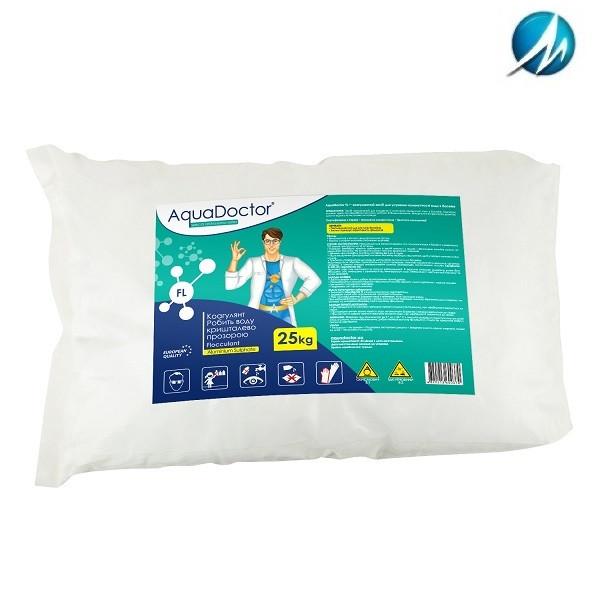 Коагулирующее средство в гранулах AquaDoctor FL, 25 кг
