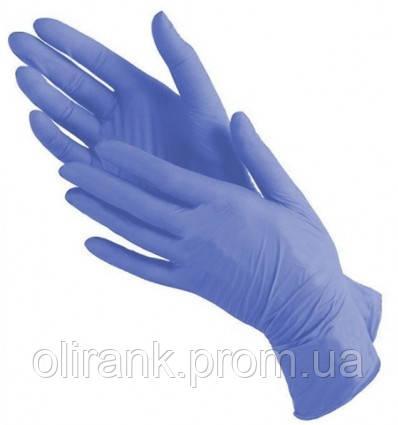 Перчатки НИТРИЛ (синие) S 100шт(10) MEDICOM