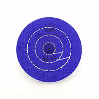Круг муслиновый CROWN 120 мм 5х50 синий