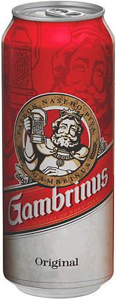 Пиво Gambrinus светлое фильтрованное 4.3% 0.5 л, фото 2