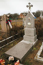 Изготовление памятников из мраморной крошки и установка в Горохове