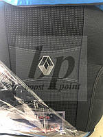 Чехлы на сиденья модельные (автоткань) Renault duster (рено дастер 2010г-2015г) деленный задний ряд, airbag