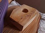 Підсвічники з дерева ручної роботи матеріал Липа, фото 2