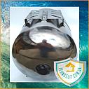 Гидроаккумулятор из нержавейки 50 литров горизонтальный GIDROTEH PTH50SS с нержавеющим фланцем, фото 4