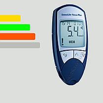 Глюкометр Сенсолайт Нова Плюс -  SensoLite Nova Plus + 60 тест-полосок, фото 3