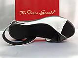 Классические кожаные босоножки на платформе Terra Grande, фото 2