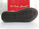 Классические кожаные босоножки на платформе Terra Grande, фото 10
