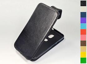 Откидной чехол из натуральной кожи для Motorola Moto G4 Play XT1602