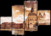 Модульная картина Архитектура Венеции 126*85 см Код: W357M