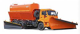 Комбинированная дорожная машина КО-829Б на шасси КАМАЗ-53229