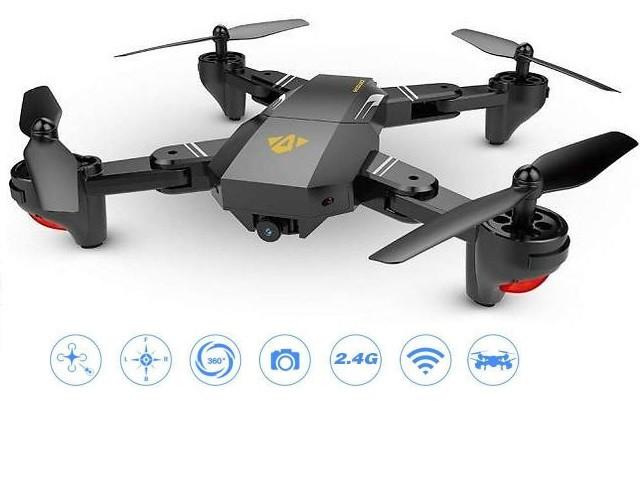 Квадрокоптер складной Phantom D5HW с WiFi и HD камерой.