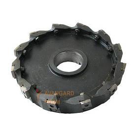 Фреза торцевая насадная 200 мм с мех. креплением пластин КНТ-16