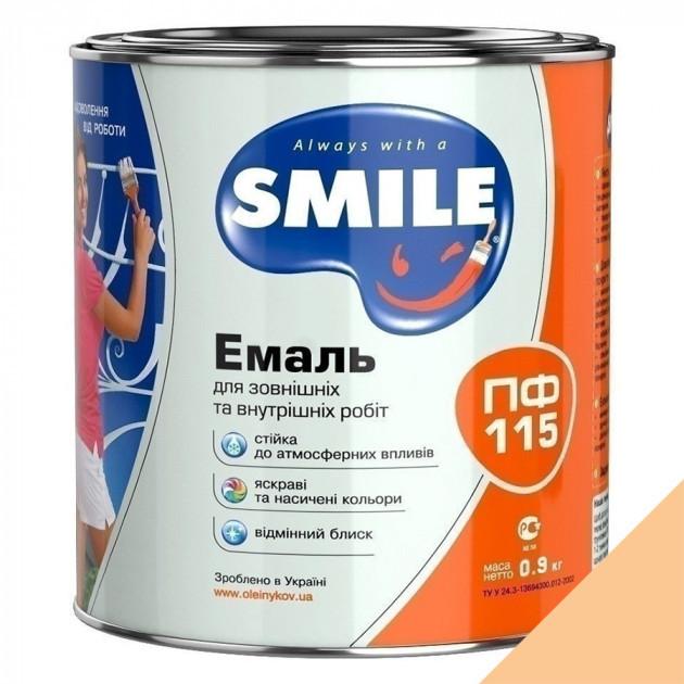 Фарба Smile ПФ-115 кремова 0,9кг