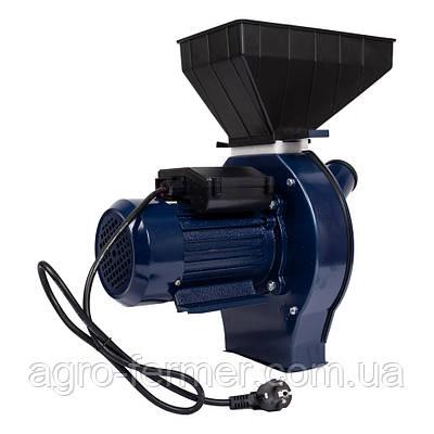 Кормоизмельчитель ДТЗ КР-02Т (зерно + початки кукурузы, производительность 200 кг/ч)