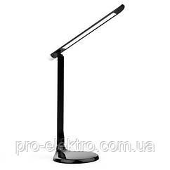Настільна лампа з нічником ZL5015 10W чорна+dimmer Z-Light