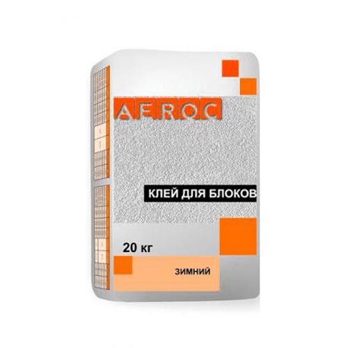 Клей для газоблоку Aeroc 20кг
