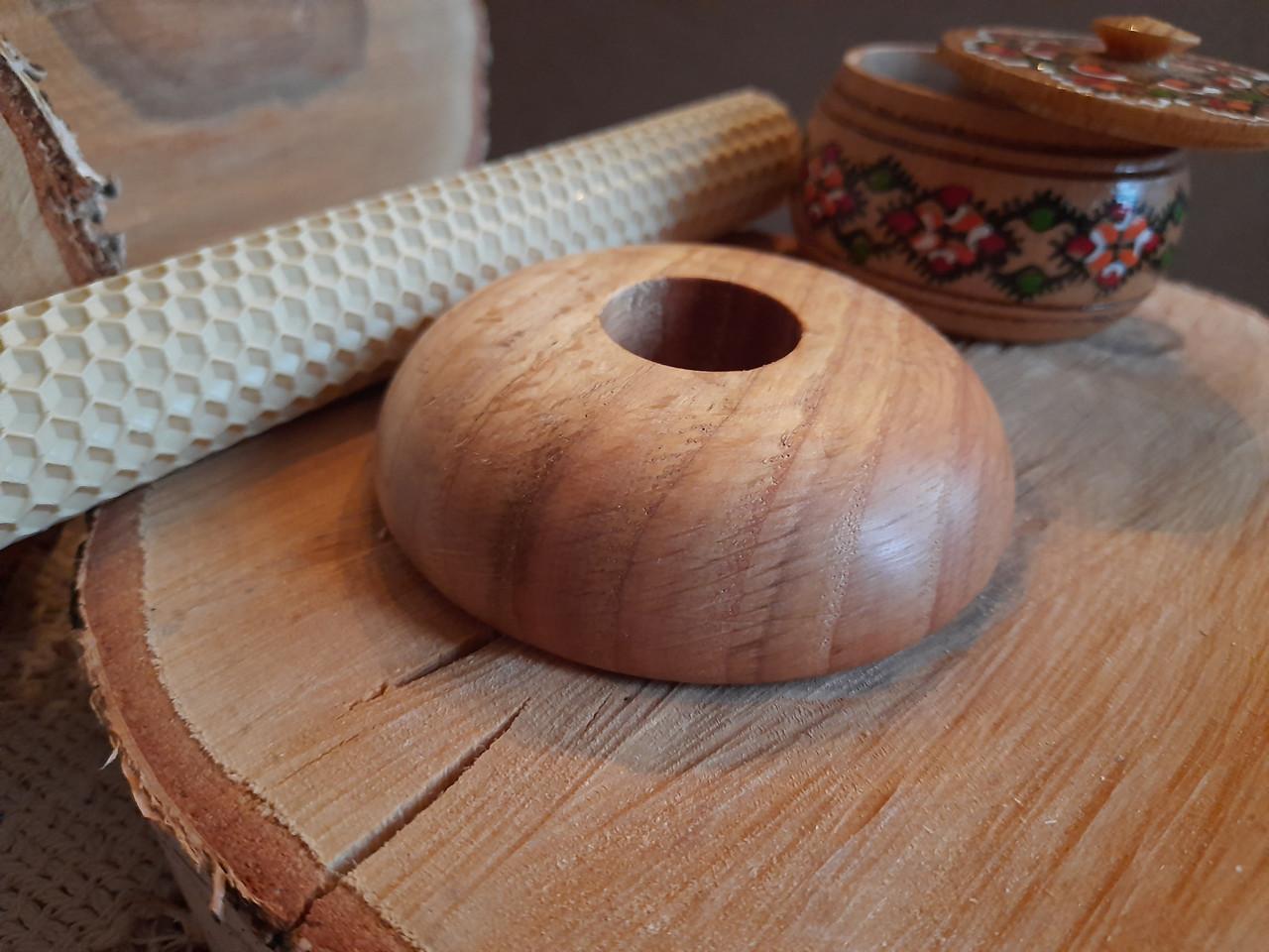Підсвічники з дерева ручної роботи матеріал Дуб