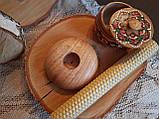 Підсвічники з дерева ручної роботи матеріал Дуб, фото 2