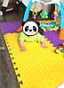 "Детский коврик-пазл ""Радуга"" Eva-Line 150*150 см Плетенка 9 пазлов, фото 10"
