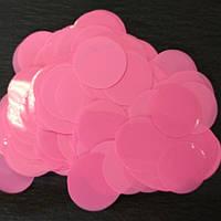 Аксесуари для свята конфеті Кружечки рожеві 35 мм х 35 мм