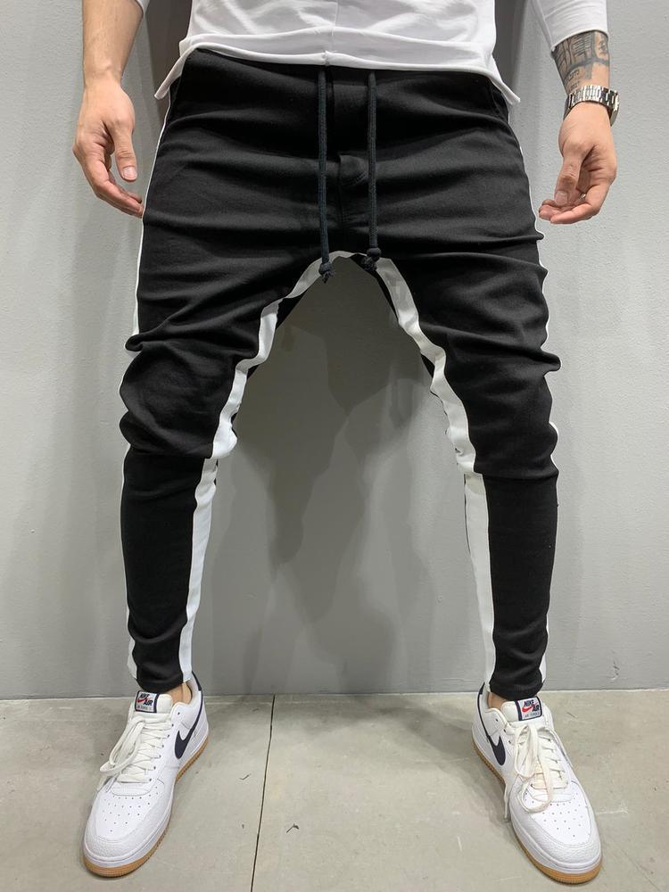 Чоловічі джинси 2Y Premium 5222 black/white