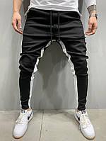Чоловічі джинси 2Y Premium 5222 black/white, фото 1