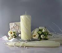 """Набор свечей """"Семейный очаг"""" цвета шампань, арт. НЖКш"""