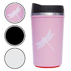 Чашка термос 300мл FFX-368FQ (металл, цвета в ассортименте) FFX-368FQ-1