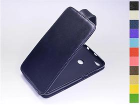Откидной чехол из натуральной кожи для Xiaomi Redmi Note 5A Prime