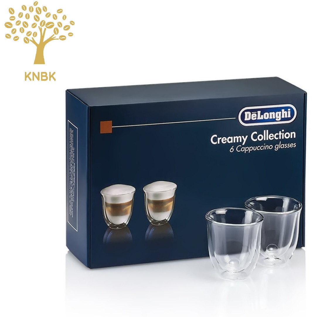 Термостакан для кофе DeLonghi Espresso 190 мл. (упаковка 6 шт.)