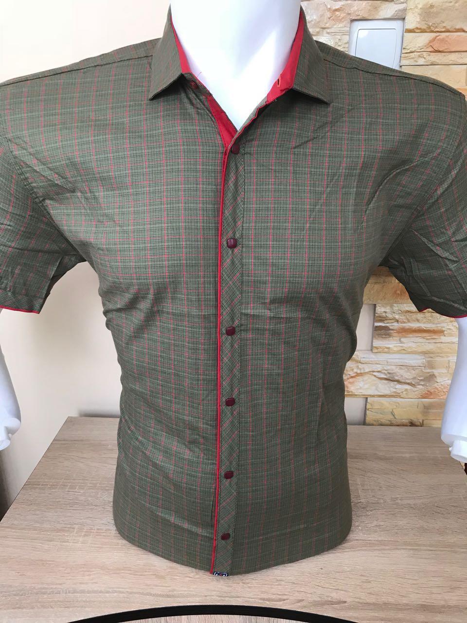 Рубашка с коротким рукавом в клетку X-Port