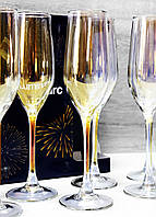 Набор Бокалов Для Шампанского Luminarc CELESTE Золотистый хамелеон 160 мл*6 шт P1636, фото 1