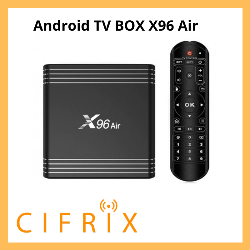 Android TV Box Enybox X96 Air смарт тв приставка на андроид 4\64