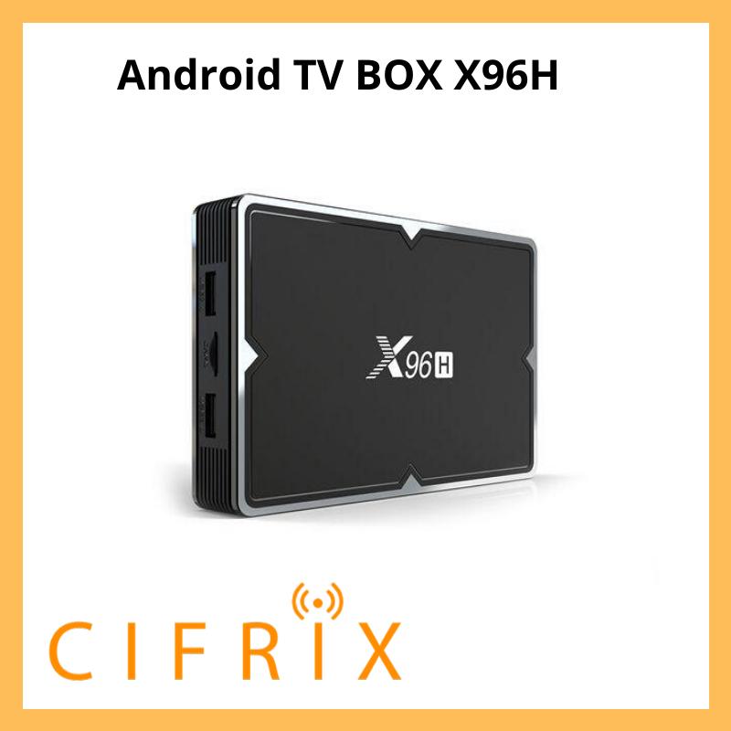 Android TV Box Enybox X96H смарт тв приставка на андроид 4\32