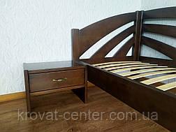 """Детская кровать из массива дерева """"Радуга"""" (90х200) лесной орех, фото 2"""