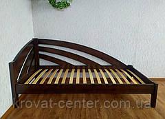 """Детская кровать из массива дерева """"Радуга"""" (90х200) лесной орех, фото 3"""