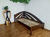 """Детская кровать из массива дерева """"Радуга"""" (90х200) цвет на выбор"""