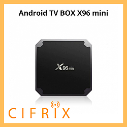 Android TV Box Enybox X96 mini смарт тв приставка на андроид 2\16