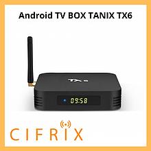 Android TV Box Tanix TX6 смарт тв приставка на андроид 4\32