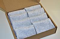 Носки укороченные , Набор  - 8 пар в комплекте, размер 36-40, серого цвета