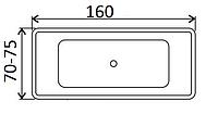 Ванни прямокутні Smaviit 160х70, 160х75