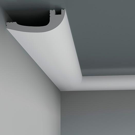 LED профілі Європласт 6.50.719, ліпний декор з поліуретану