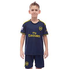 Форма футбольная детская ARSENAL резервная 2020 Zelart CO-0984 (р-р 20-28-6-14лет, 110-155см,
