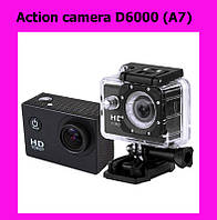 Sale! Action camera D6000 (A7)!АКЦИЯ